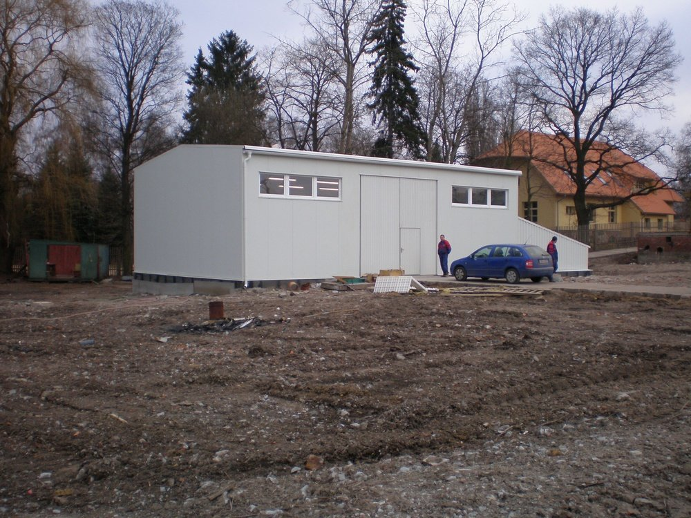 Completed water treatment<br />Kovohute Celakovice.
